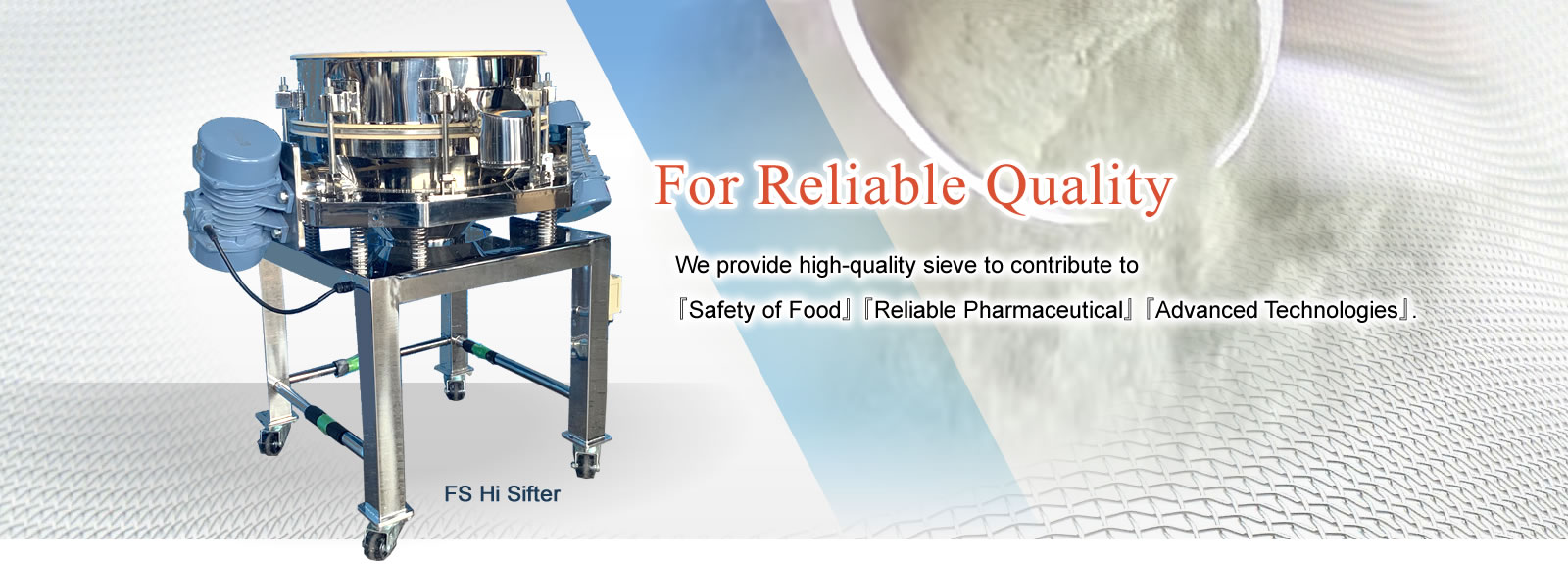 For Reliable Quality